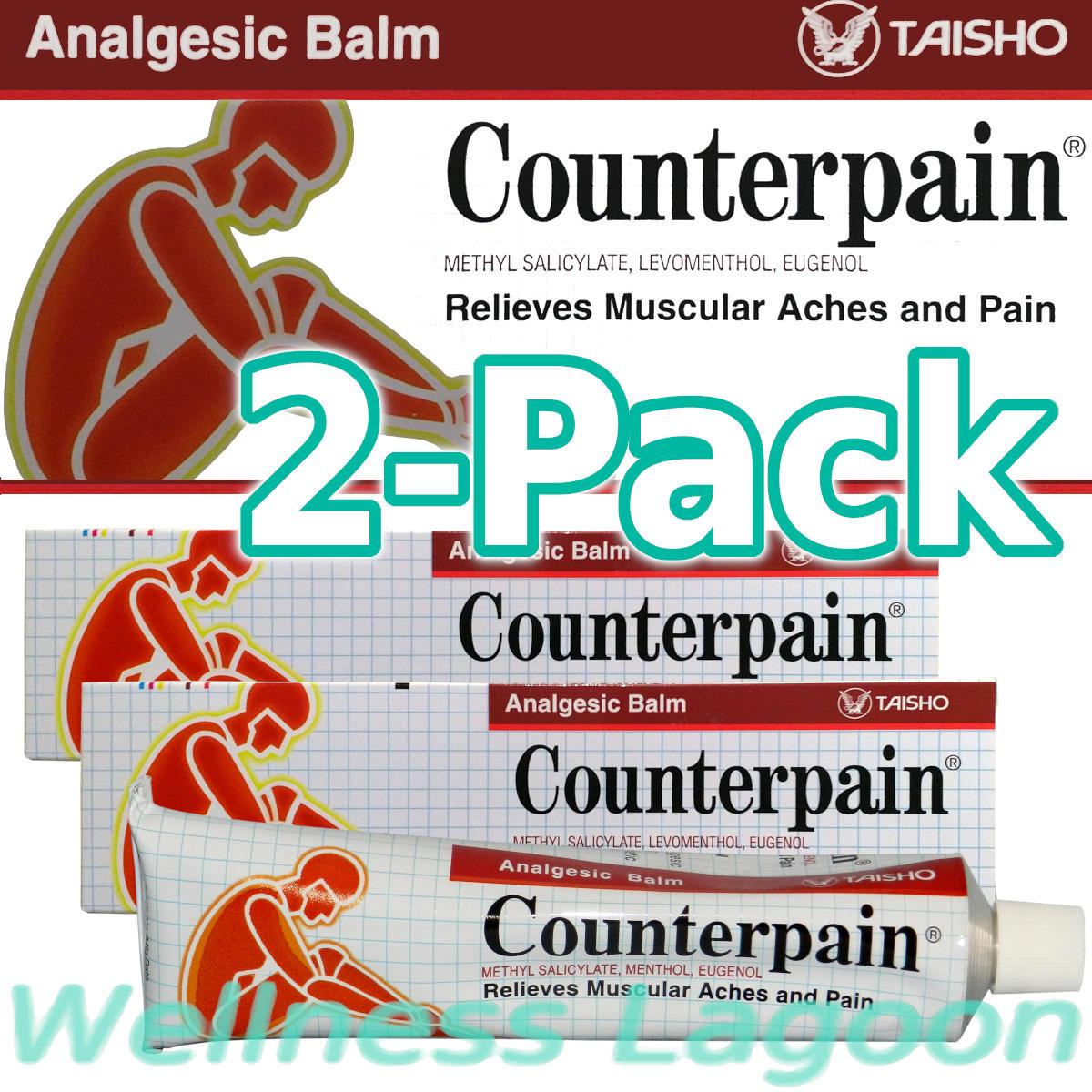 2x Taisho Counterpain Balm Red