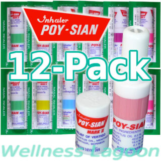 12x Poy Sian Inhaler Mark II - Nasal Inhaler
