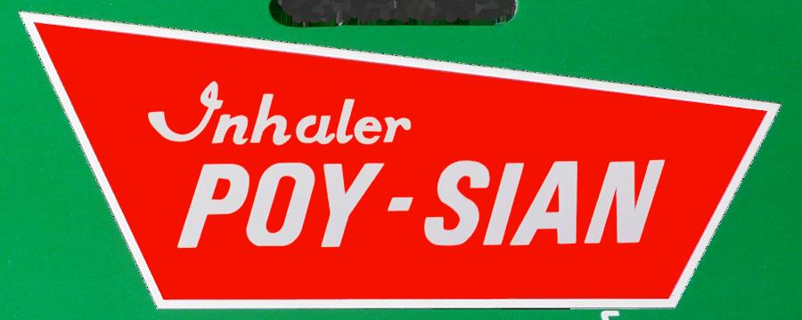 Poy-Sian Inhaler label