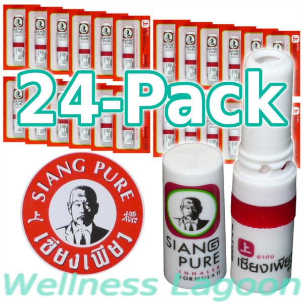 24x Siang Pure Inhaler - Formula II - Nasal Inhaler & Rub