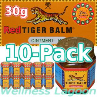 10x Tiger Balm Red 30g