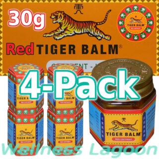 4x Tiger Balm Red 30g