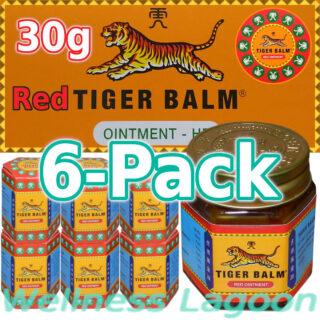 6x Tiger Balm Red 30g
