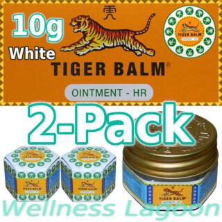 2x Tiger Balm White 10g
