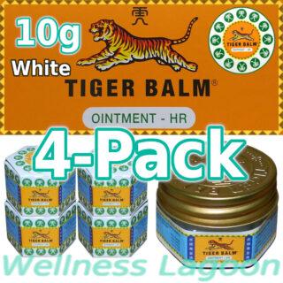 4x Tiger Balm White 10g