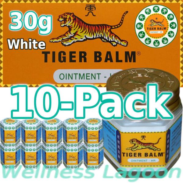 10x Tiger Balm White 30g