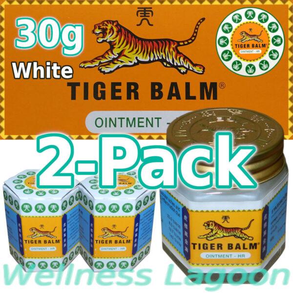 2x Tiger Balm White 30g