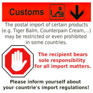 customs warning restricted prohibited items